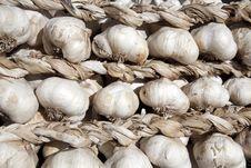 Free Garlic Braid Stock Images - 17147124