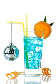 Free Blue Hawaiian Cocktail Stock Photos - 17147163