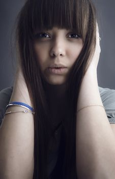 Free Portrait Of Lovely Teenager Girl Royalty Free Stock Photography - 17147207