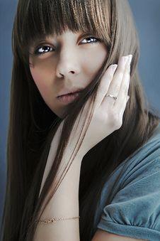 Free Portrait Of Lovely Teenager Girl Stock Photo - 17147210