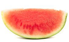 Free Organic Slice Of Watermelon Royalty Free Stock Photography - 17148197