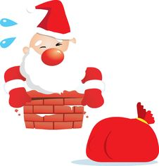 Free Fat Santa Claus Stock Photos - 17148353