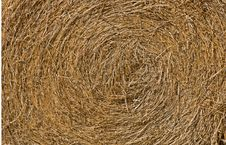 Free Close Up View Of A Round Hay Bale Stock Photos - 17148663