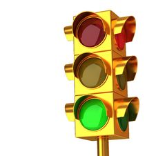 Free Traffic Lights Stock Photo - 17149100