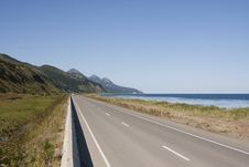 Highway Along Coast Stock Images