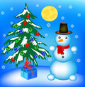 Free New Year S Fir Tree In Toy Royalty Free Stock Photo - 17155805
