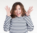 Free A Portrait Of Surprised Girl Stock Images - 17158164
