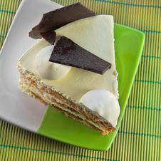 Free Sweet Cake With Chocolate Royalty Free Stock Photo - 17150145
