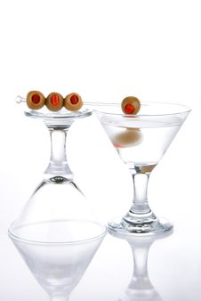 Free Martini With Olives Stock Photos - 17150233
