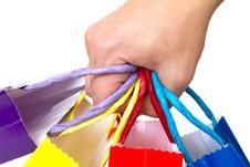 Free Colorful Shopping Bags Stock Photography - 17150572