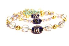Glass Necklace Stock Images