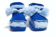 Free Baby Shoes Royalty Free Stock Photos - 17151318