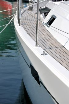 Free Part Of Yacht Royalty Free Stock Images - 17151859