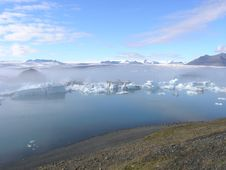 "Free The Mysterious ""Jokulsarlon Lake"" In Iceland Stock Photography - 17152952"