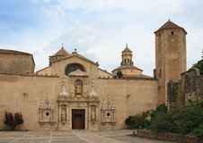 Monastery Of Poblet Royalty Free Stock Photography