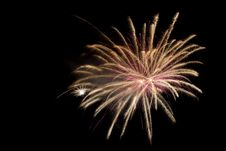 Free Colorful Fireworks At Night Sky Stock Photography - 17153962