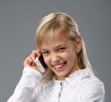 Free Talking On Mobile Stock Photos - 17154353