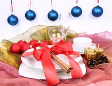 Free Christmas Setting Royalty Free Stock Photography - 17154387