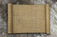 Free Natural Mat Roll Paper Stock Images - 17154654