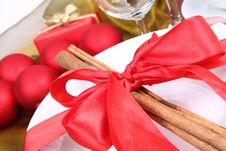 Free Christmas Table Stock Photo - 17154910