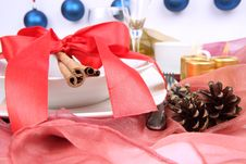 Free Christmas Tableware Stock Images - 17155184