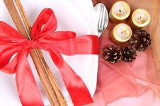 Free Christmas Tableware Stock Photos - 17155353