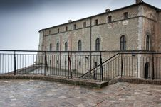 Free Partly View Of The Castle Of St. Leon, Italy Stock Image - 17155911