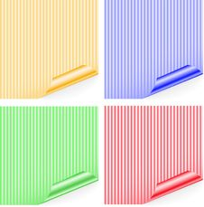 Free Striped Stickers Stock Images - 17156334