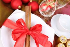 Free Christmas Or New Year S Setting Royalty Free Stock Photos - 17156618