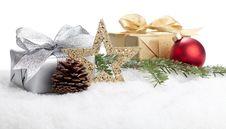 Free Christmas Present Royalty Free Stock Photo - 17156735
