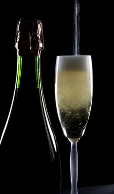 Free Pouring A Glass Stock Images - 17157374