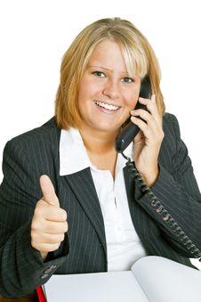 Free Freindly Businesswoman Stock Photos - 17159133