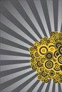 Free Circles And Rays Stock Photo - 17161310