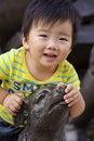 Free A Happy Baby Royalty Free Stock Photo - 17161545