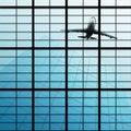 Free Reflect Of Plane In Skyscraper Stock Image - 17165451