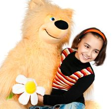 Free Girl With Bear Royalty Free Stock Photography - 17160087