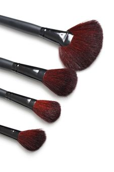 Free Professional Makeup Brushes Royalty Free Stock Photo - 17160445