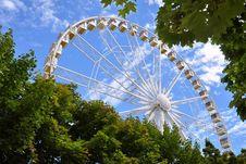 Free France Paris Big Dipper Wheel Stock Photos - 17160653