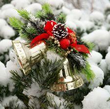 Free Christmas Hand Bells Royalty Free Stock Image - 17160776