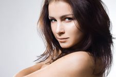 Portrait Of The Sweet Woman