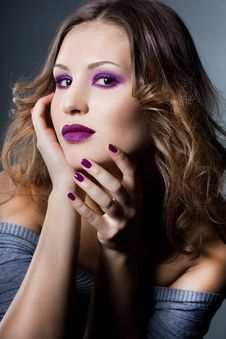 Free Elegant Fashionable Woman Stock Photo - 17161050