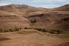 Free Dry Desert Royalty Free Stock Photography - 17161347