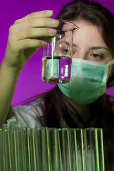 Free Young Scientist Royalty Free Stock Photos - 17161578