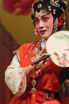 Free Chinese Opera Actress Royalty Free Stock Photography - 17161727