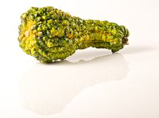 Free Green And Yellow Gourd Royalty Free Stock Photography - 17161787
