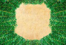 Free Christmas Green Framework Stock Photo - 17162120