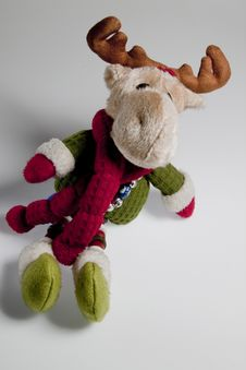 Free Christmas Reindeer Stock Photos - 17163023