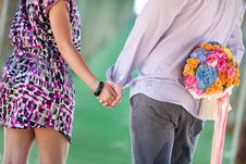 Free Couples Hand In Hand Stock Photo - 17163440