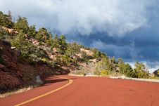 Free Kolob Canyons Road Stock Photography - 17163732