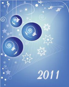 Free Christmas Balls Stock Image - 17163831
